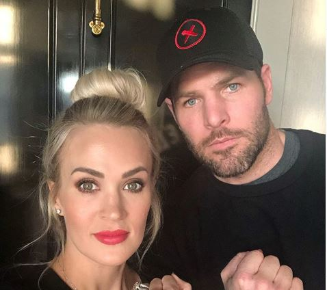 Carrie Underwood and Mike Fisher Instagram