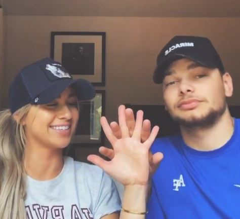 Kane Brown with his wife Instagram