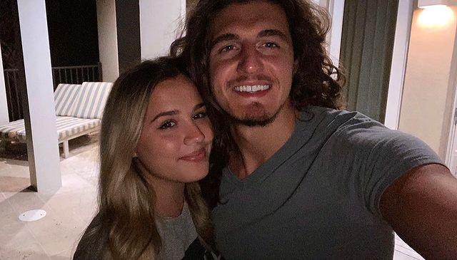 Gabby Barrett and Cade Foehner