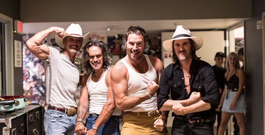 Tim McGraw, Midland Instagram
