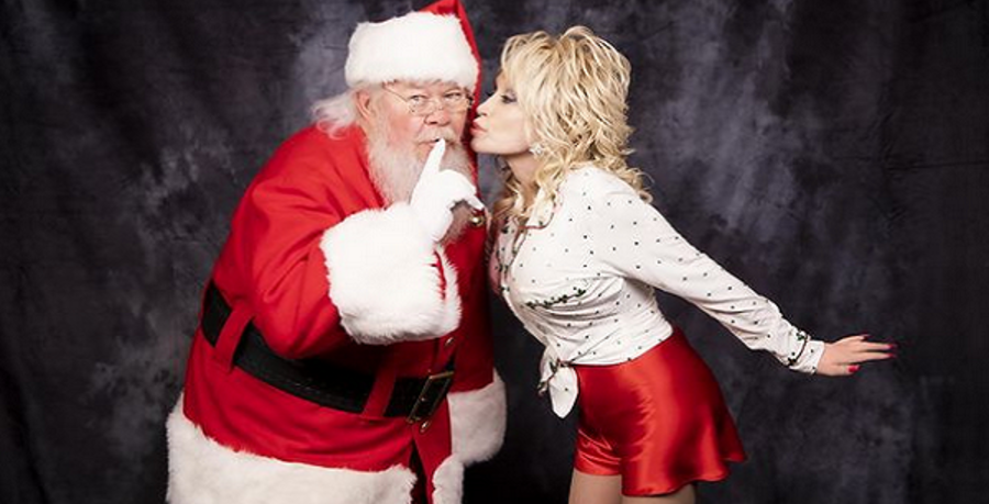 dolly parton christmas instagram post