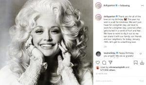 Credit: Dolly Parton Instagram