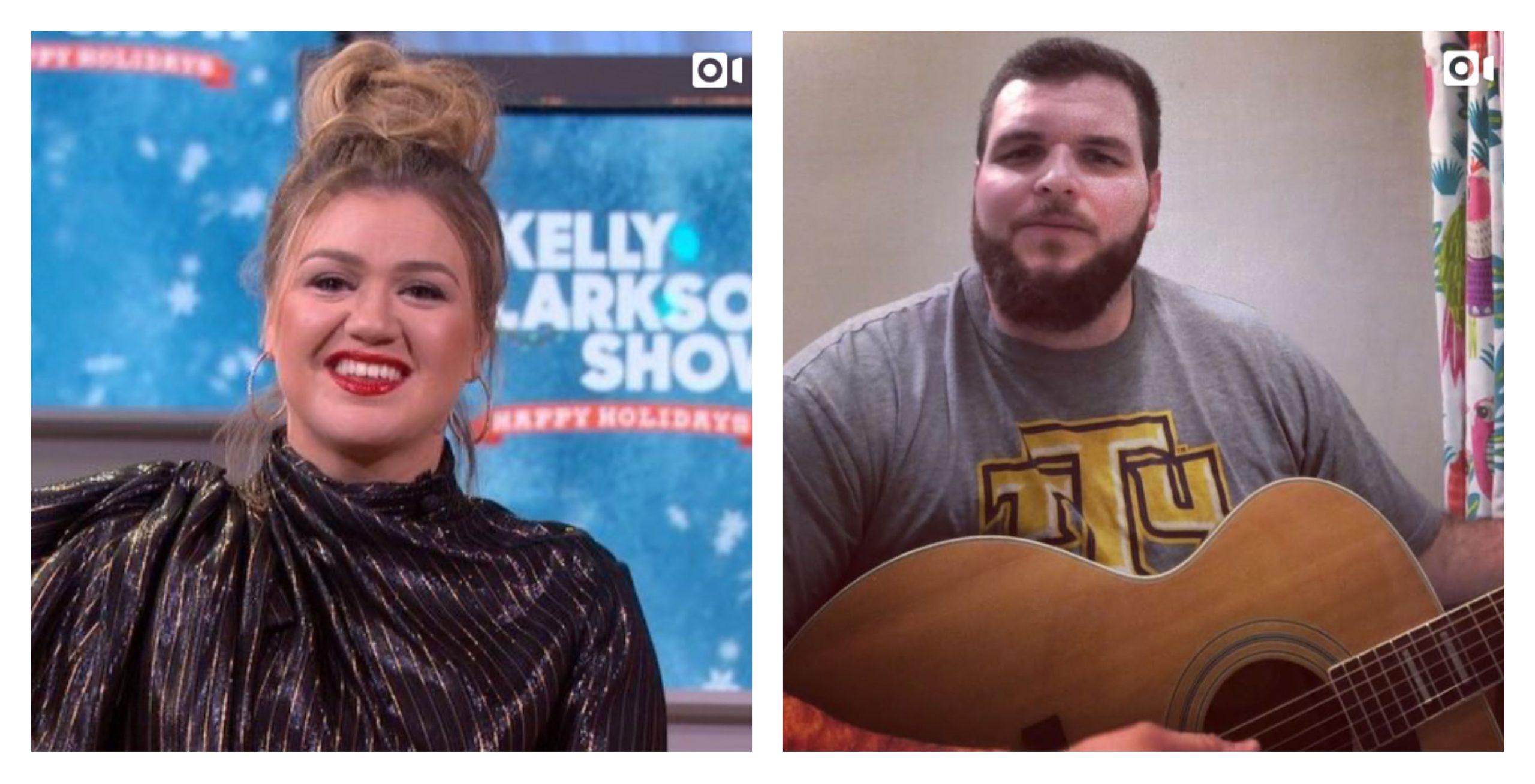 Kelly Clarkson Jake Hoot