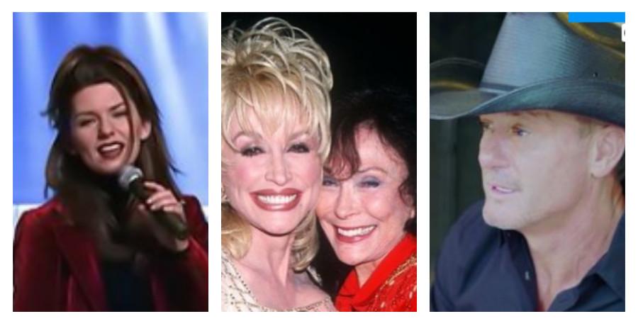 Brian Kelley musical - Shania Twain, Dolly Parton, Loretta Lynn, Tim McGraw, Instagram