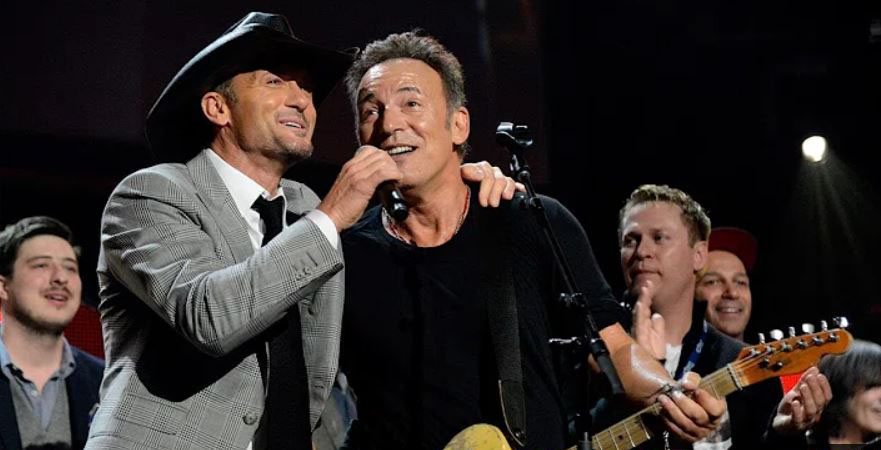 Tim McGraw Bruce Springsteen
