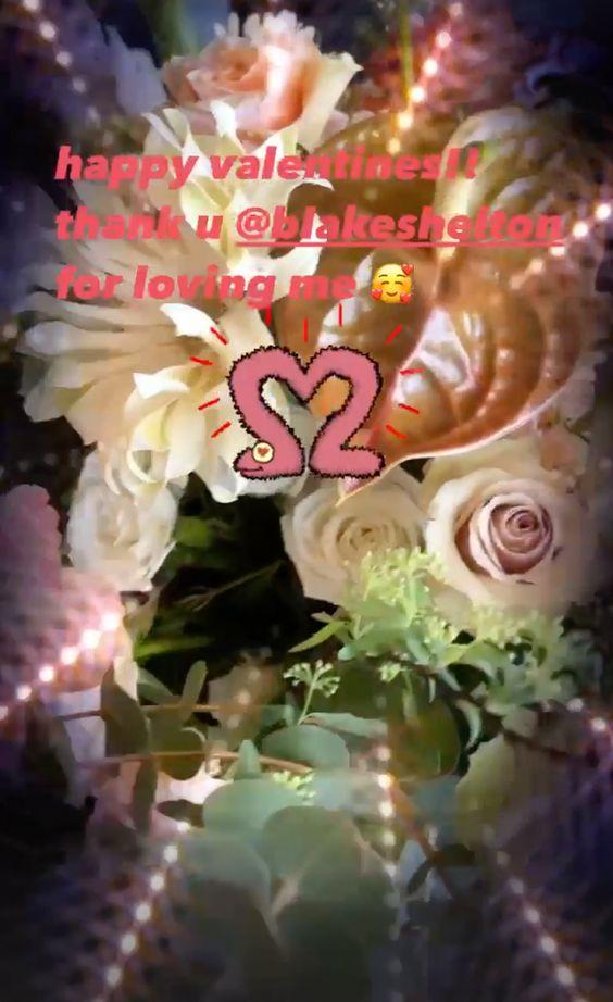 Blake Shelton Gwen Stefani Valentines
