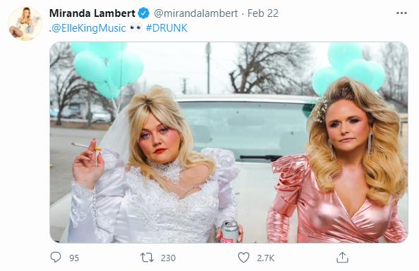 courtesy of Miranda Lambert Twitter
