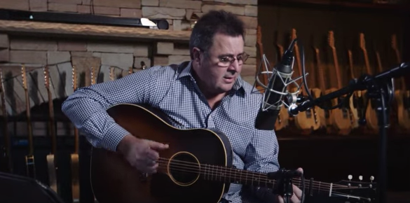 courtesy of Vince Gill YouTube channel