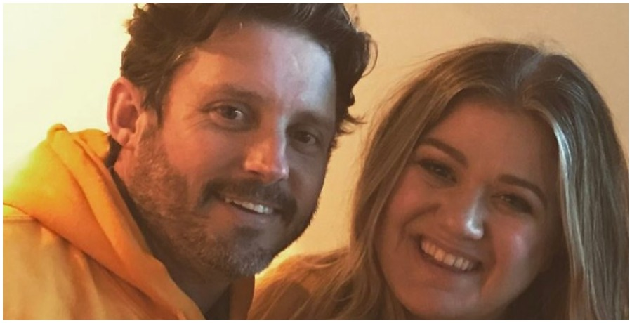 Kelly Clarkson and estranged husband Brandon Blackstock. (Kelly Clarkson/Instagram)