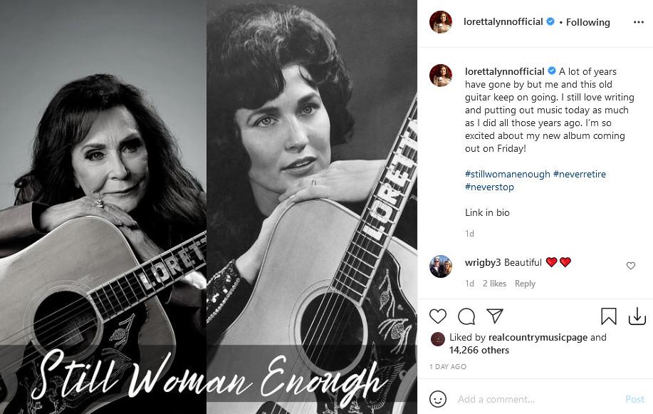 Credit: Loretta Lynn/Instagram