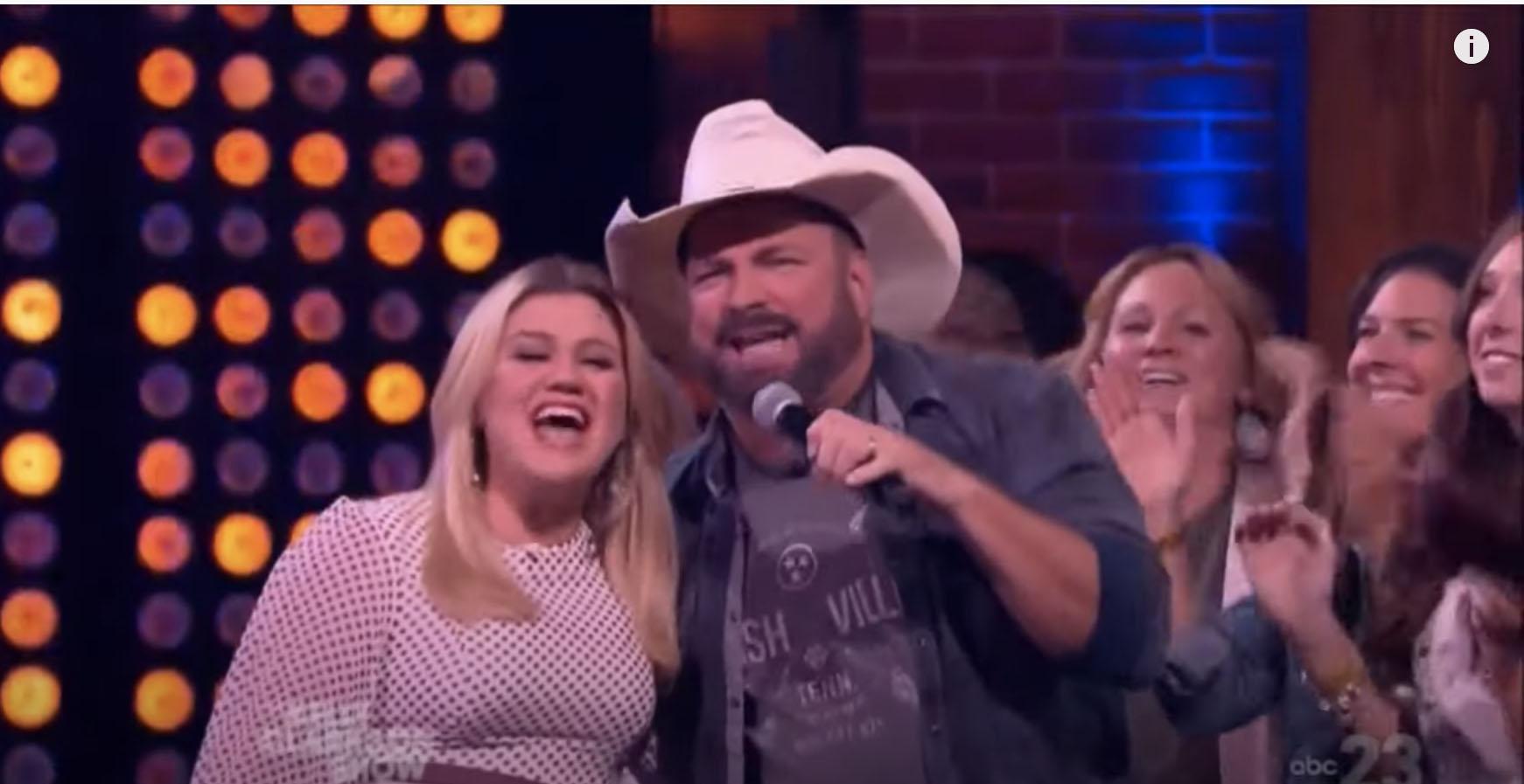 Kelly Clarkson Garth Brooks