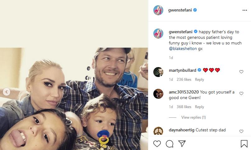 [Credit: Gwen Stefani/Instagram]