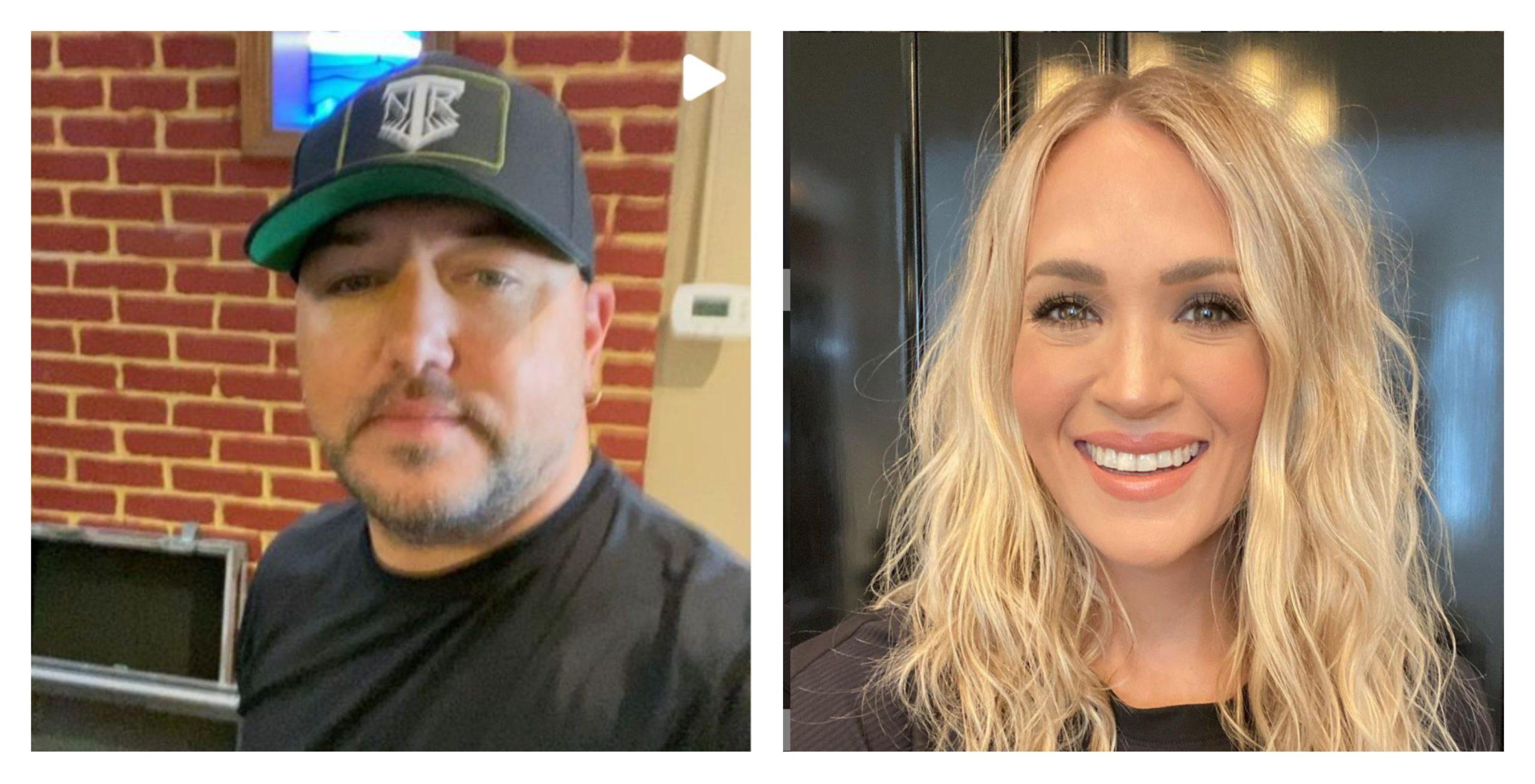 Jason Aldean Carrie Underwood duet